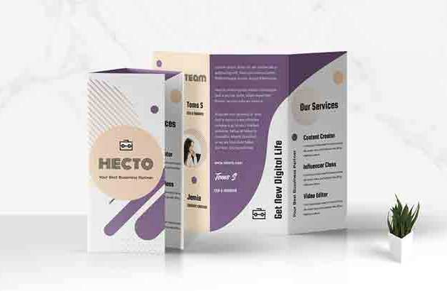 Trifold Business Brochure TJGZR4N Free Download