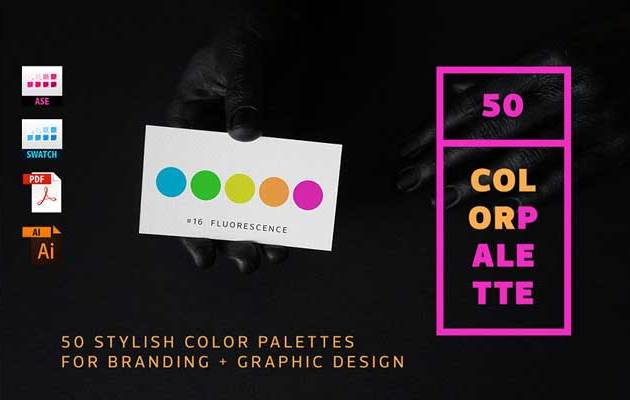 50 Color Palettes for Branding