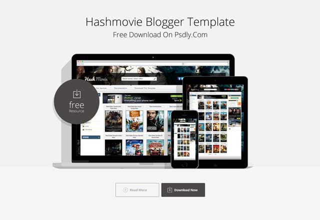 Hash Movie Blogger Template