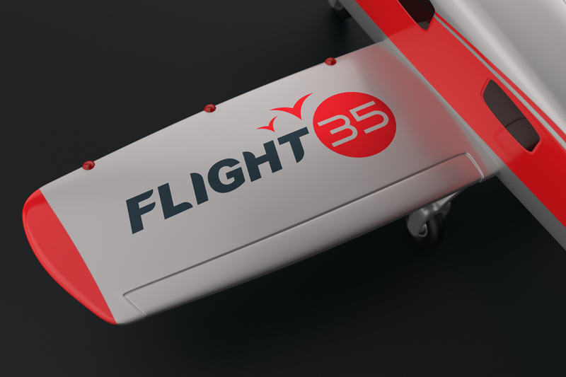 Airplane-Logo-Mockup