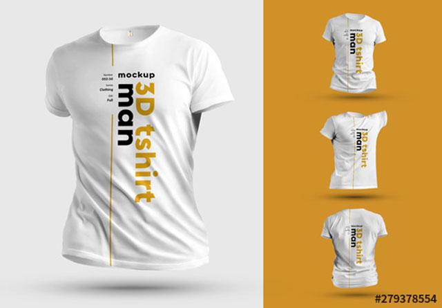 3D T-Shirt Mockups