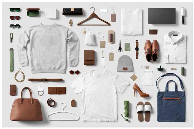 Clothing Fashion T Shirt Mockup