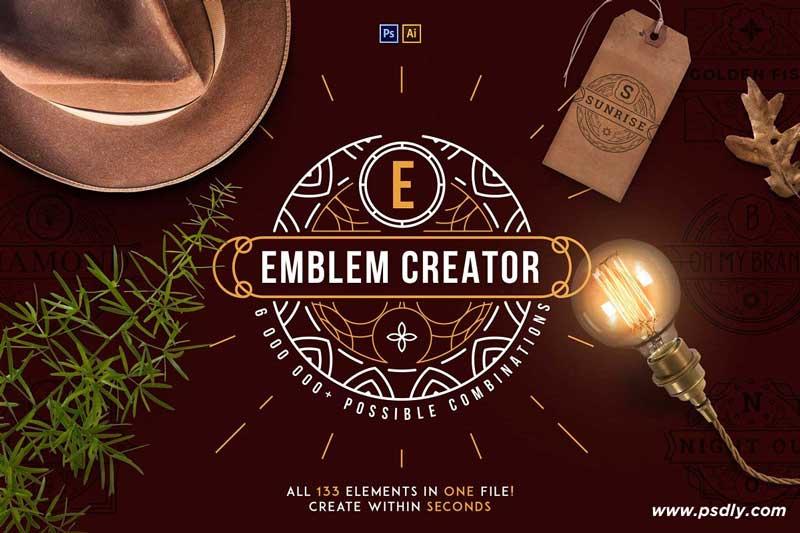 Emblem Creator all in one file 2367655