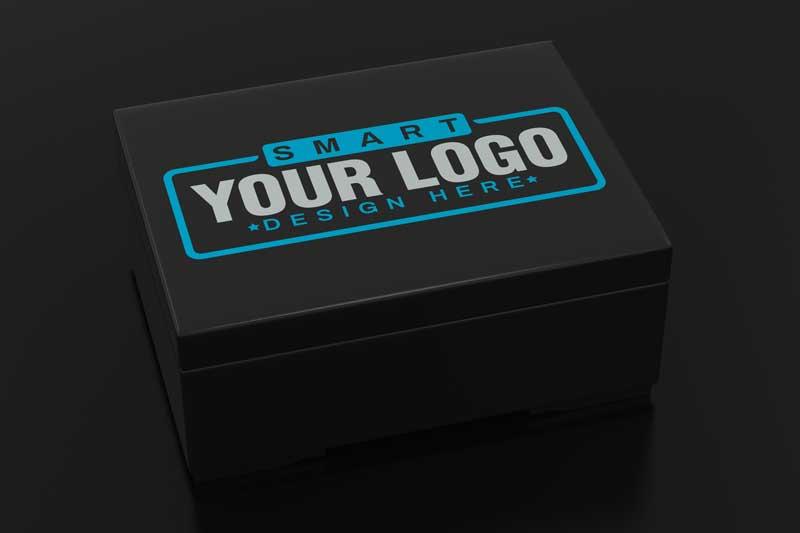 Box Logo Mockup
