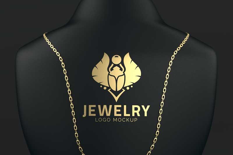 Jewelry Logo Mockup