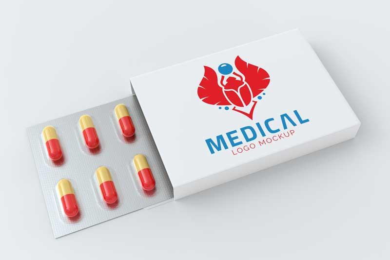 Medical Logo Mockup