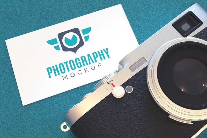 Photography Logo Mockup