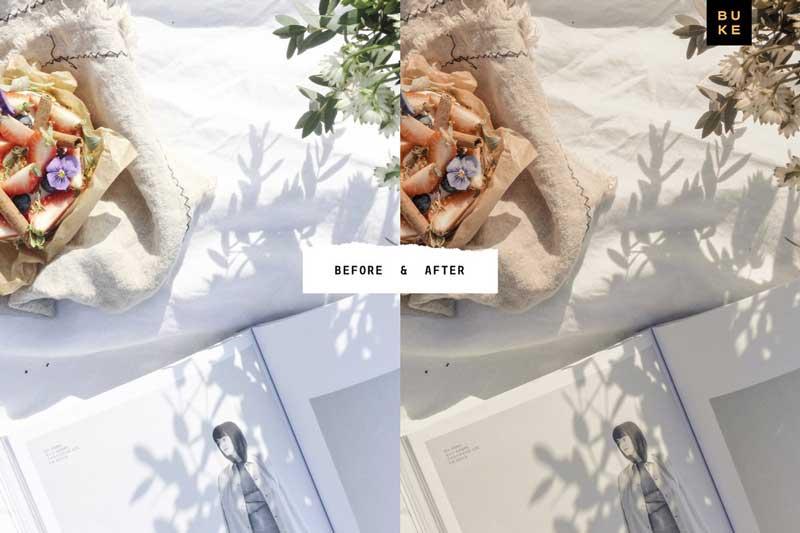 8 Pastel Lightroom Presets Bundle Free