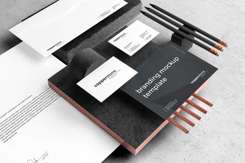 Copperstone Branding Mockup Vol. 2