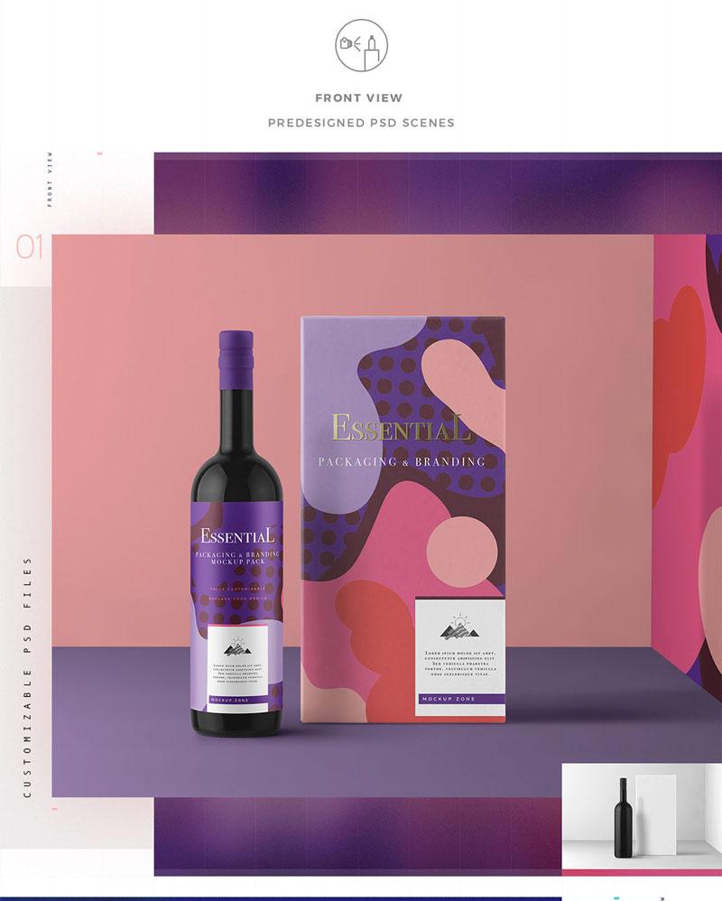 Essential Packaging Branding Mockup 1351937 1
