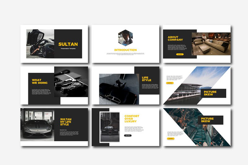 Sultan Powerpoint Google Slides and Keynote Templates 1