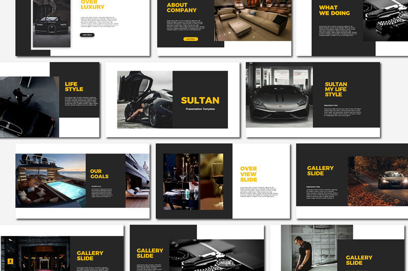 Sultan Powerpoint Google Slides and Keynote Templates