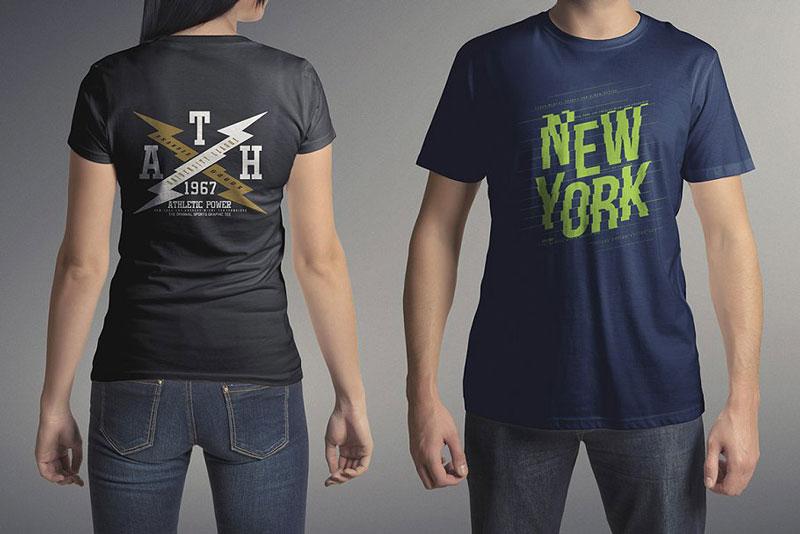 T Shirt Mock Up Set 3 1