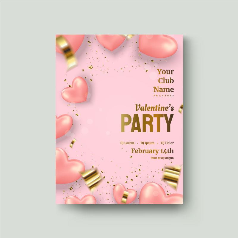 valentines day flyer 3