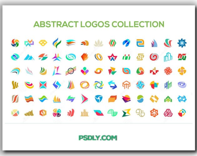 Abstract logos collection