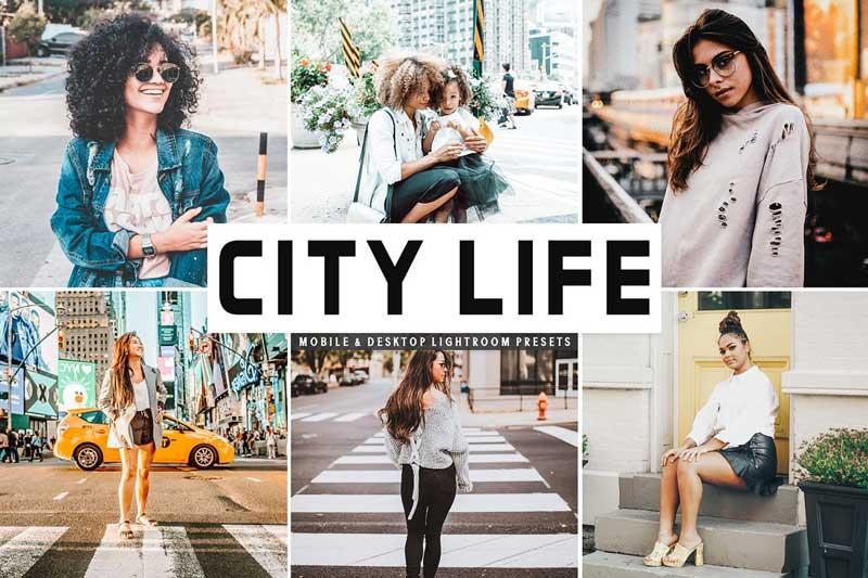 City Life Mobile 2526 Desktop Lightroom Presets Download