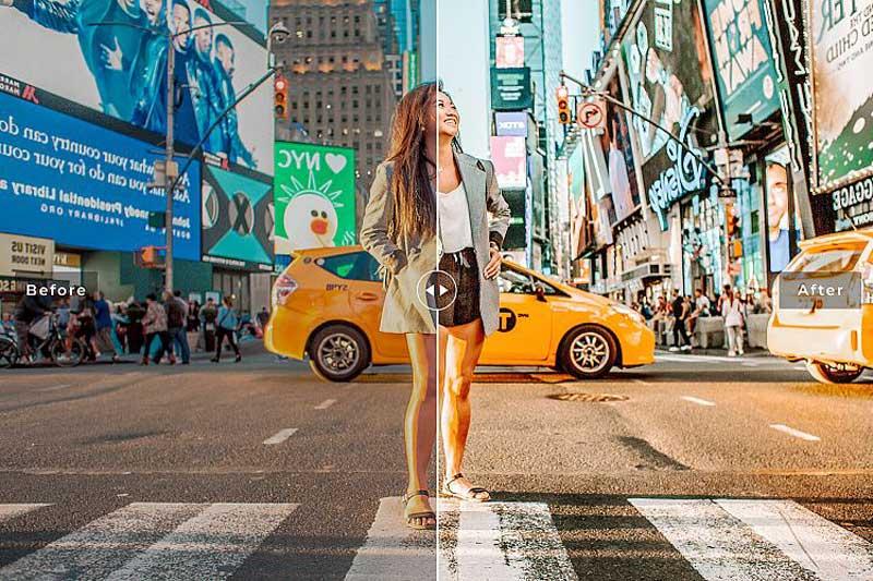 City Life Mobile 2526 Desktop Lightroom Presets Free Download