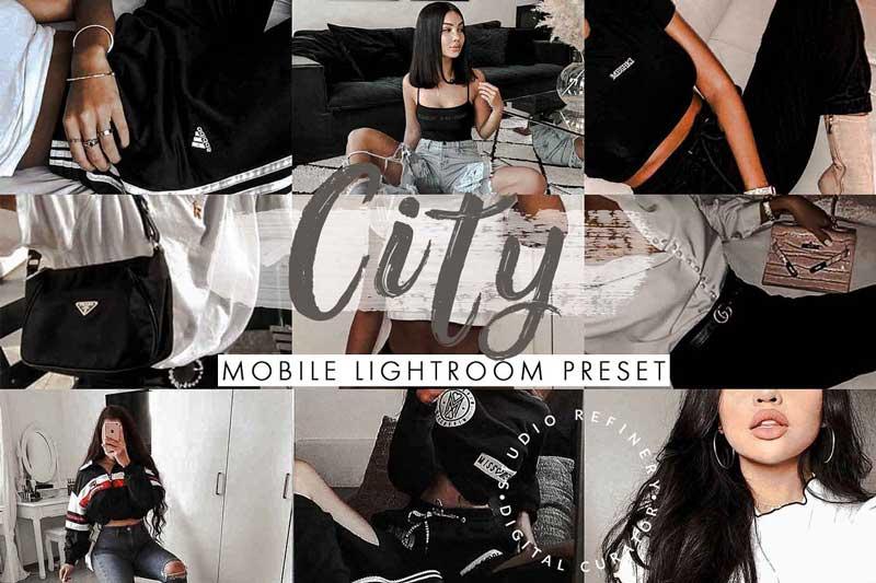 City Mobile Lightroom Presets 4488206 Download