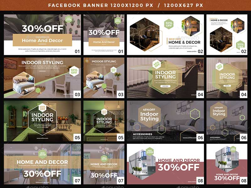 Facebook Home And Decor Banners 1