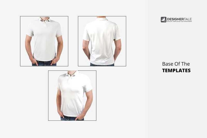 Polo T Shirt Mockup 3