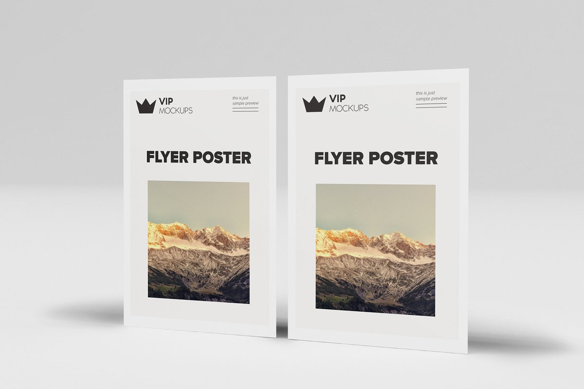 poster flyer mockups 6