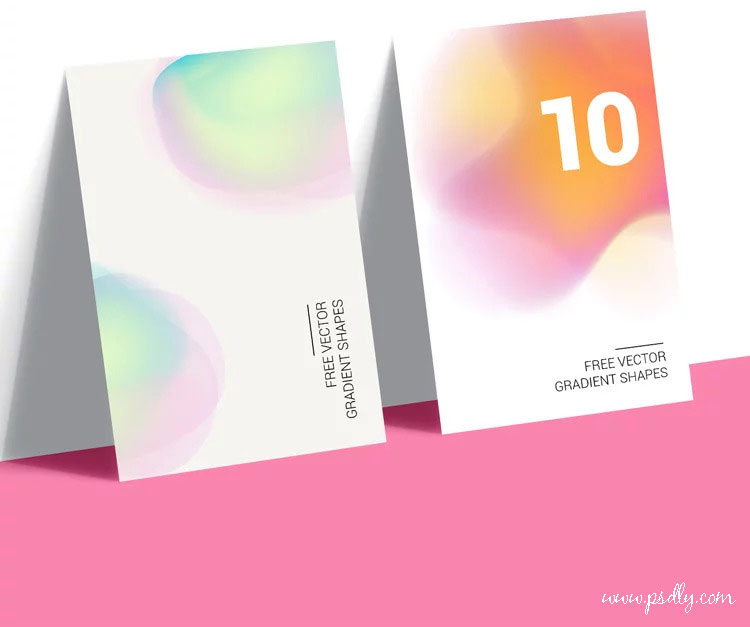 10 Gradient Shapes in Vector Free Now
