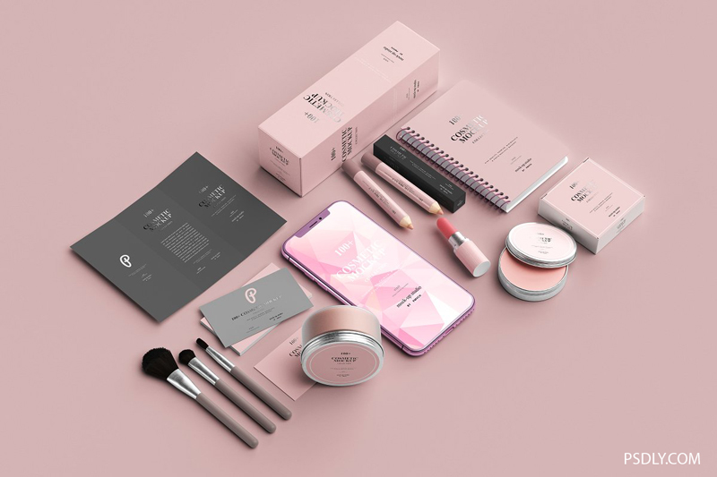 100252B Cosmetic Mockup Collection 1