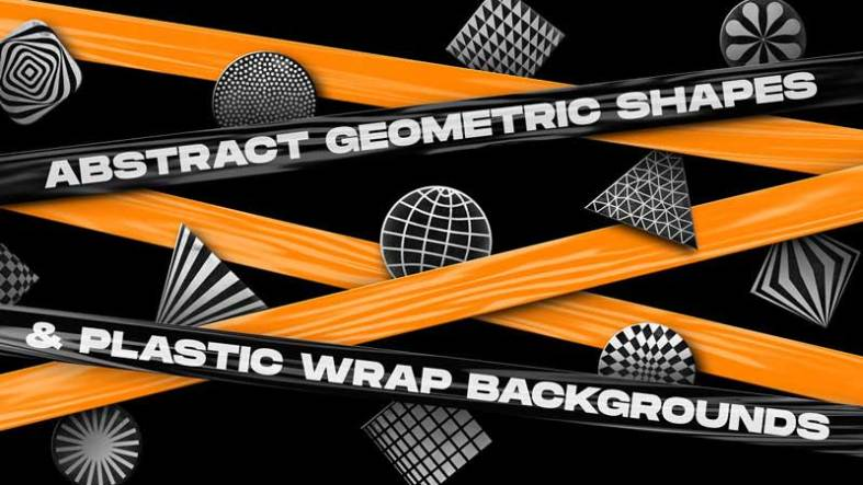 200 Abstract Shapes 2526 Backgrounds