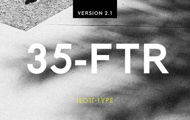 35 FTR Font Family