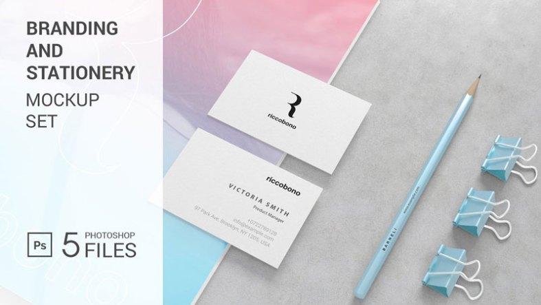Branding And Stationery Mockup 4122904