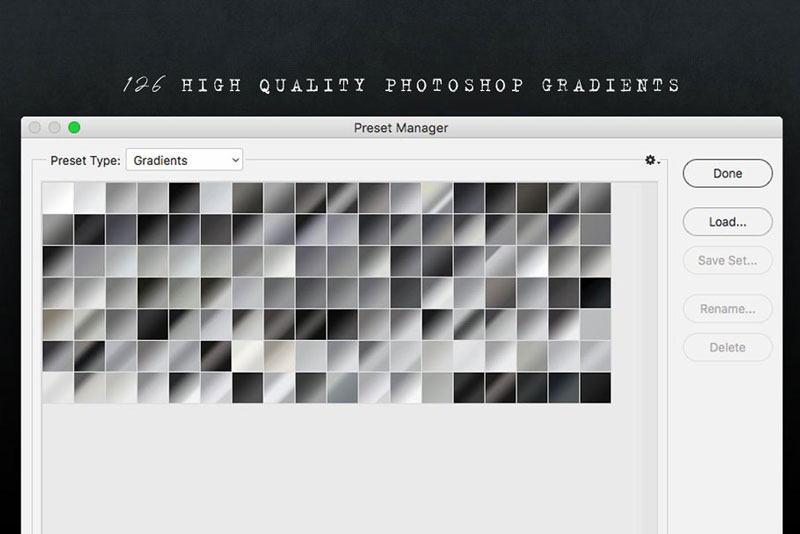 Creativemarket 126 Black and White Gradients 2554467