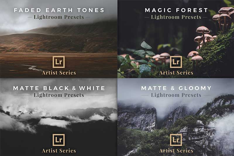 Creativemarket BUNDLE 29 Lightroom Preset Packs 924218 Download Free