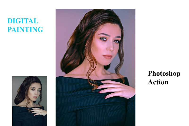Digital Painting Photoshop Action 4557382 Free Now