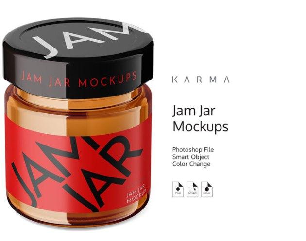 Jar Jam Mockup 3 4653821