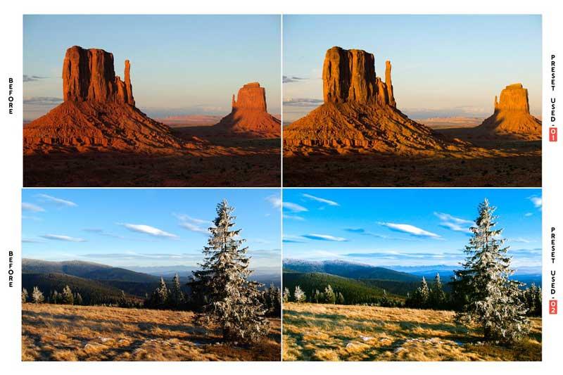 Nature Landscape Lightroom Presets 4594512 Free Download