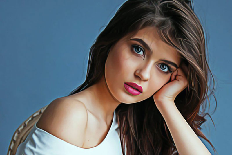 Oil Painting Photoshop Actions 1204041