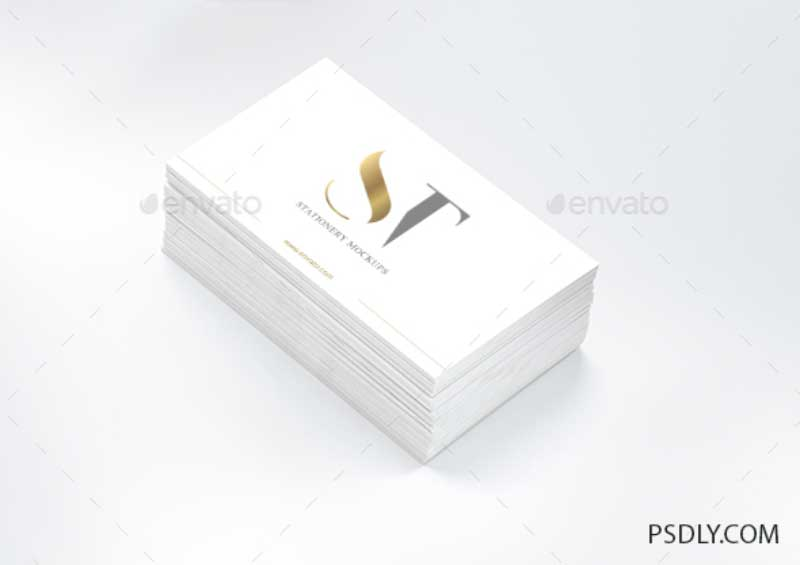 Realistic Business Card Mockup 3