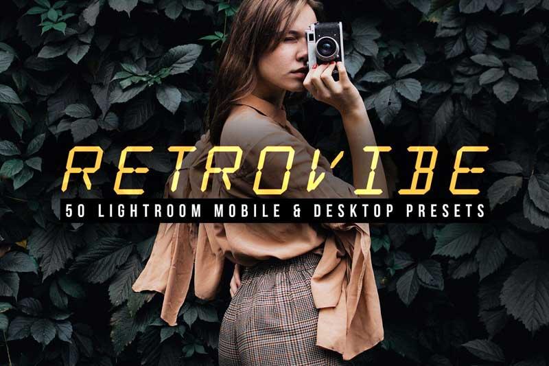 Retrovibe 50 Lightroom Presets 4609103 Download Free