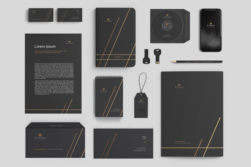 Stationery Branding Mockup Set 2691967
