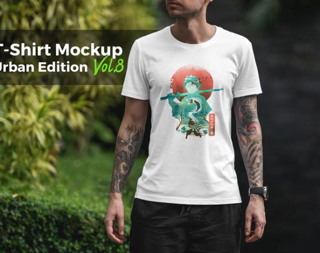 T shirt Mockup Urban Edition 8
