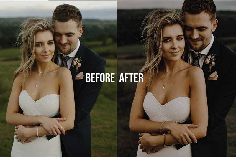 Wedding Gold Pack Lightroom Presets 4623262