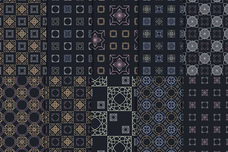 255BSpring Vibes255D 35 Tile Patterns 2472127 Free Now