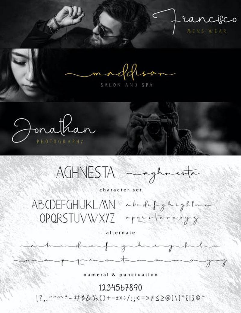 Aghnesta Font Trio 25603448
