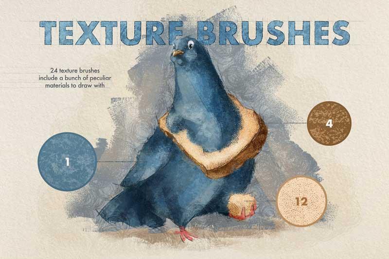 Artista Procreate Brushes 4762278