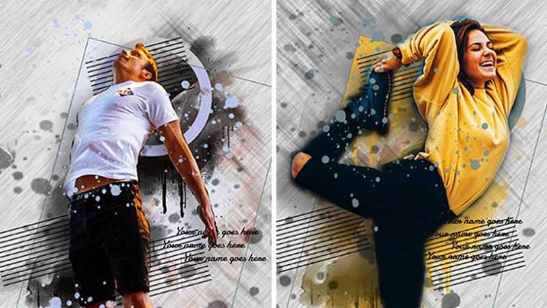 Painting Photoshop Action 26068825