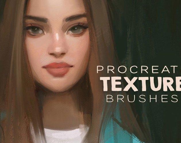 Procreate Texture Brushes 4669790