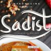Sadist Font Family