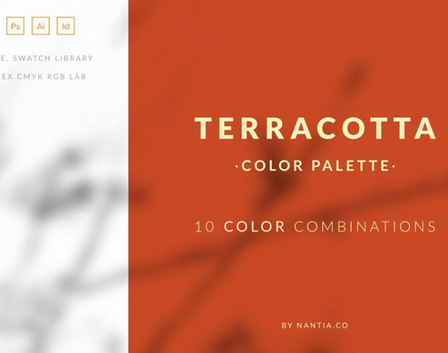 Terracotta Color Palette collection 3567166