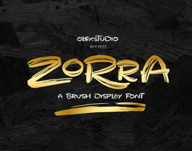 Zorra Display Font