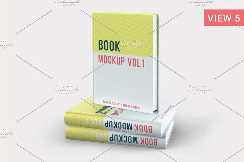 Creativemarket - Books Mockup